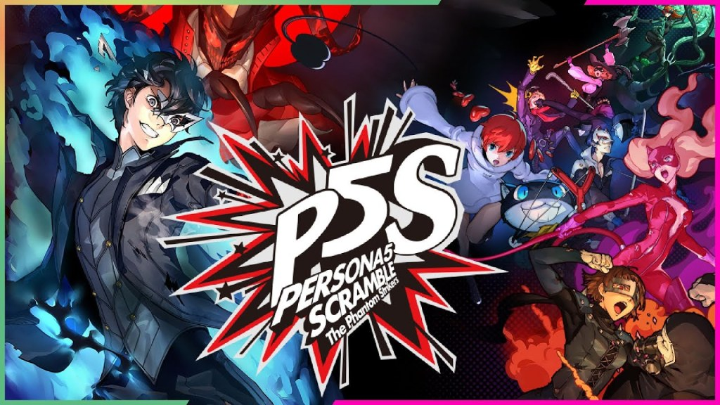 Persona 5 Scramble: The Phantom Strikers locandina