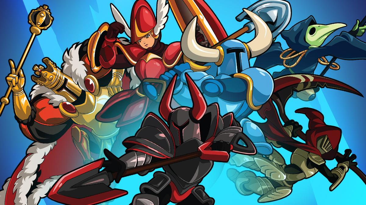 Copertina di Shovel Knight Showdown