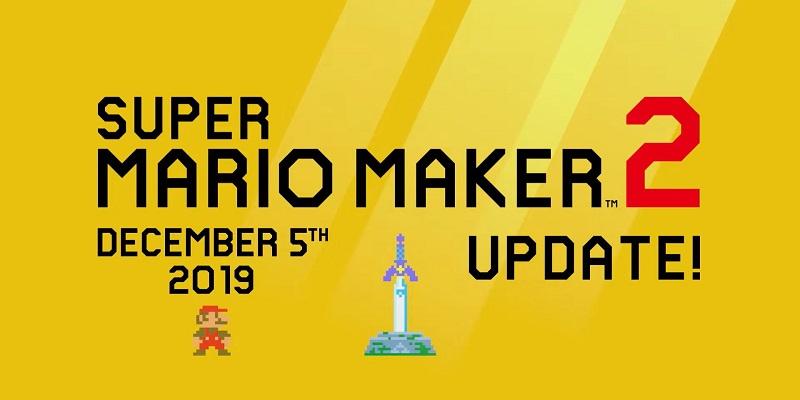 Super Mario Maker 2 aggiornamento