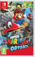 Copertina di Super Mario Odyssey