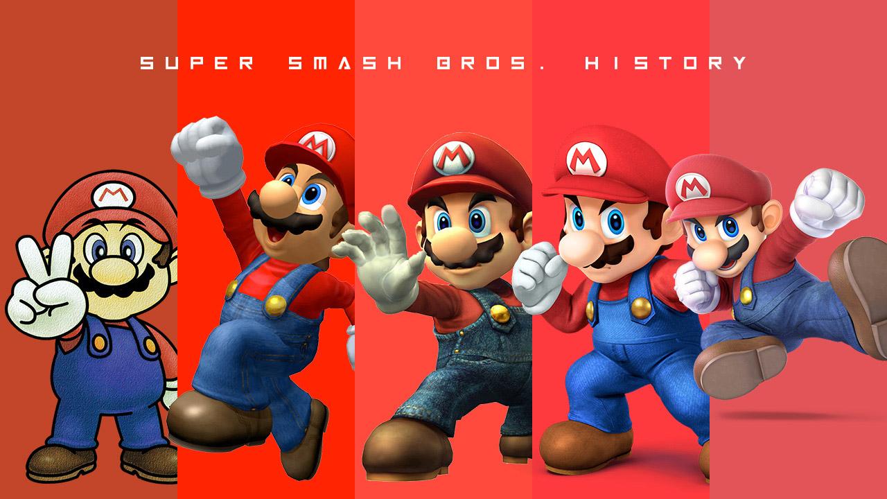 Evoluzione Super Smash Bros.