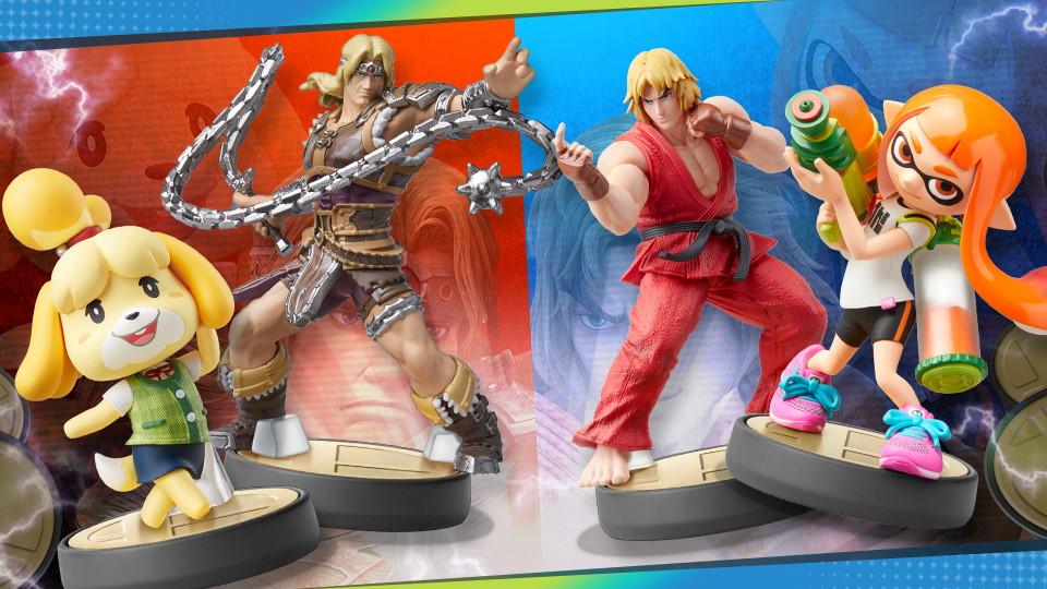 Super Smash Bros. Ultimate Torneo Stammi vicino, amiibo