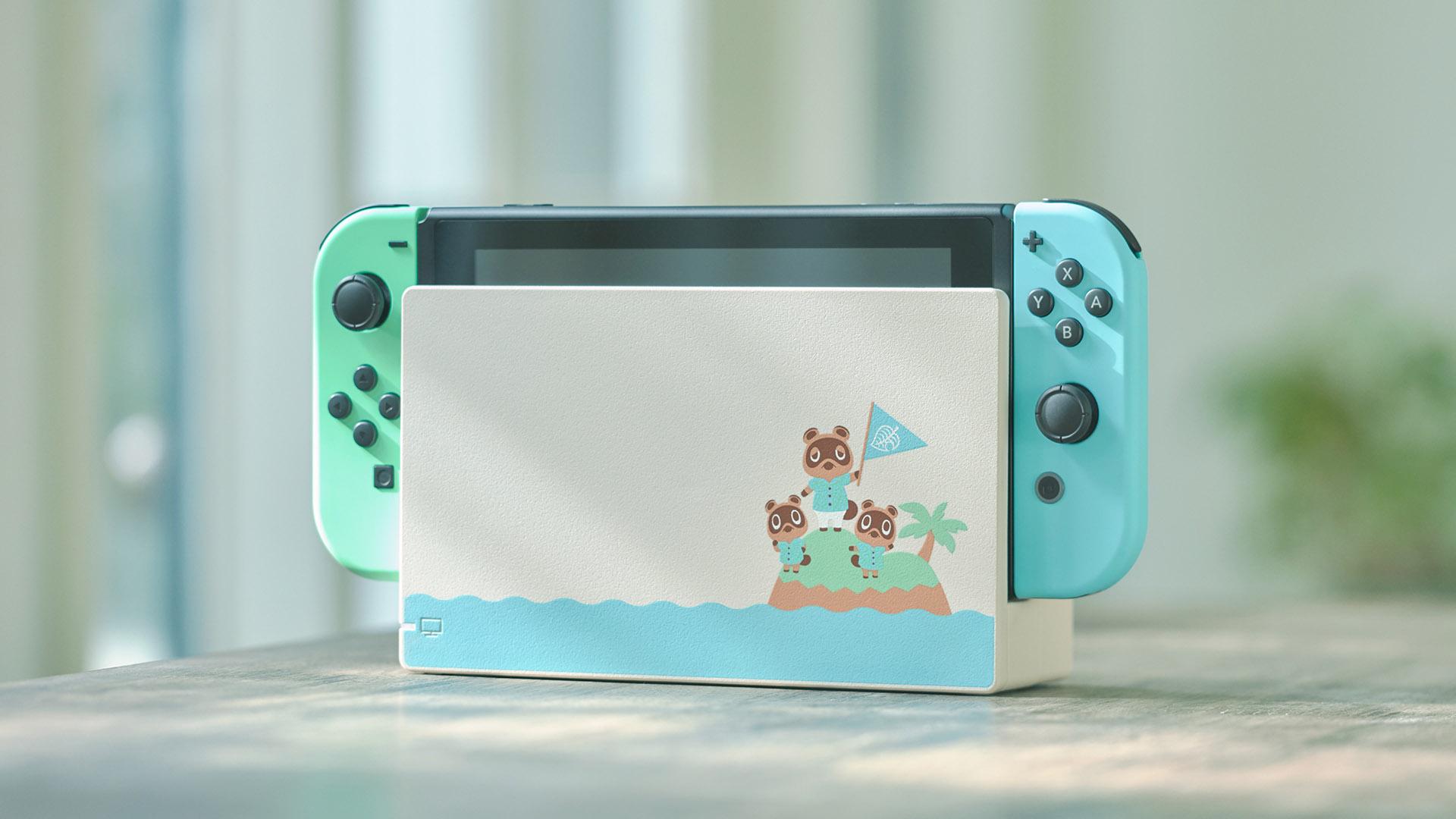 Nintendo Switch a tema Animal Crossing: New Horizons