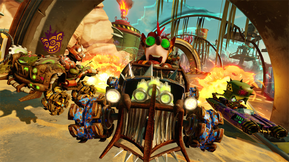 Crash Team Racing: Nitro-Fueled Gran Premio di Rustland