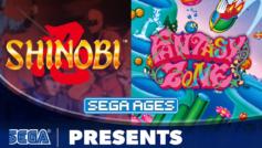 Copertina della recensione SEGA AGES Fantasy Zone e Shinobi
