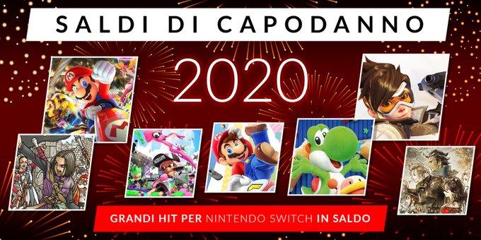 Nintendo eShop: nuovi sconti per celebrare l'inizio del 2020