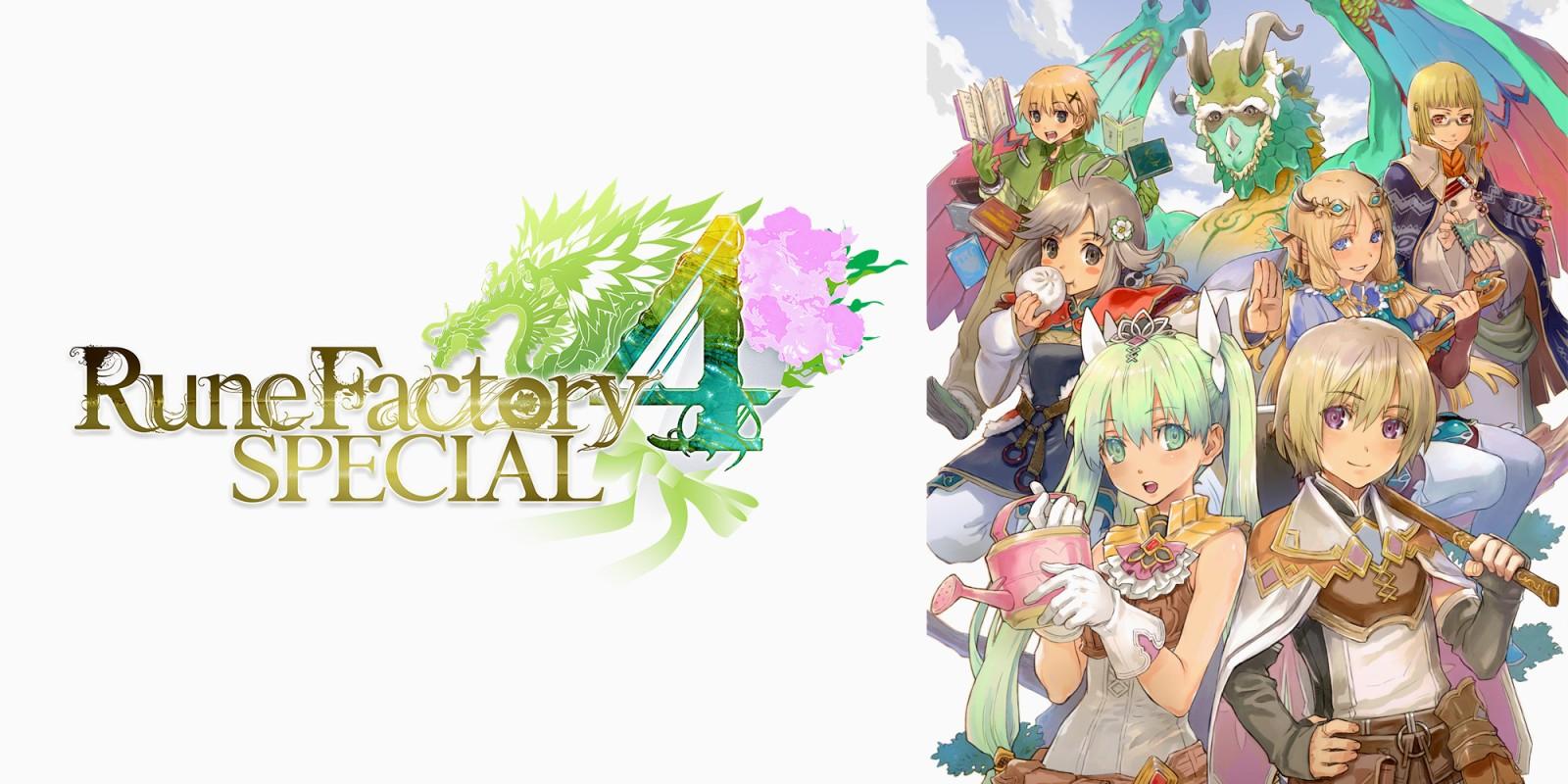 Rune Factory 4 Special locandina