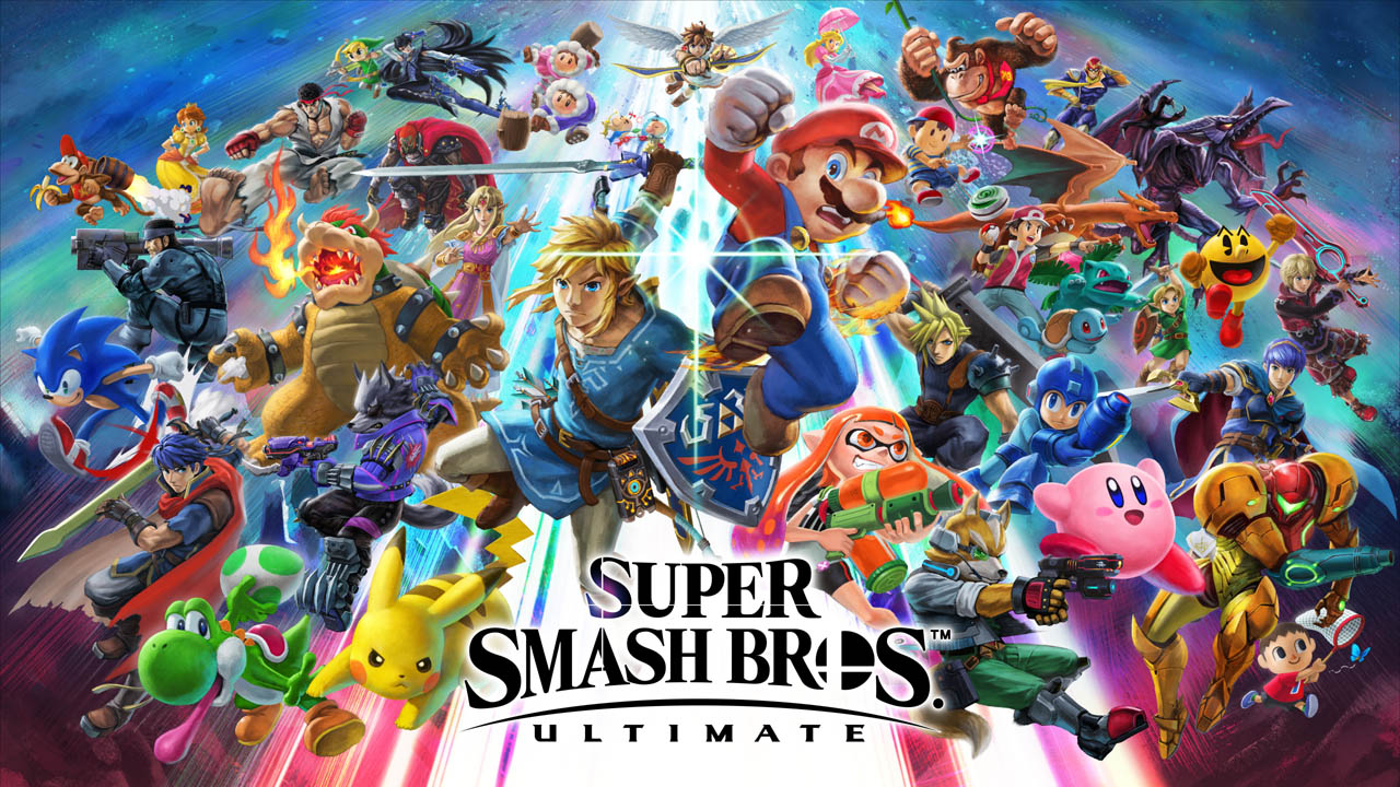 Super Smash Bros. Ultimate locandina