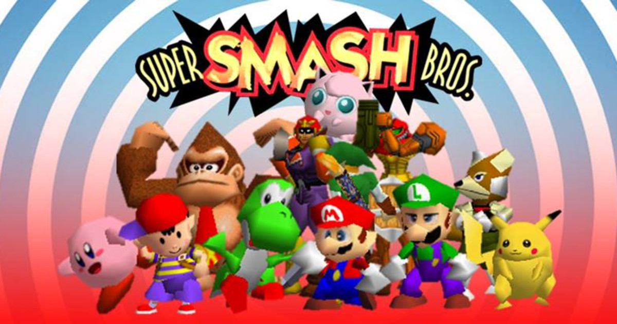 Super Smash Bros. 64 Cover