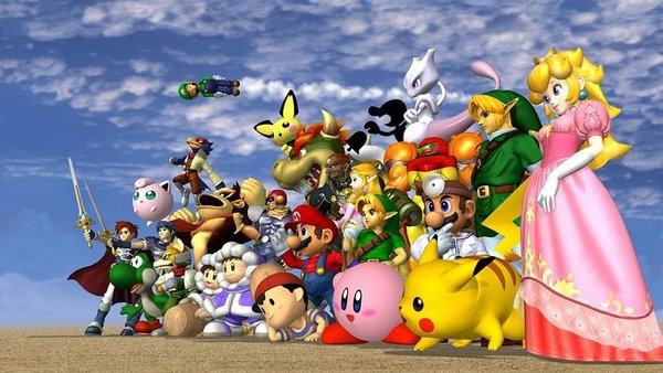 Super Smash Bros. Melee locandina
