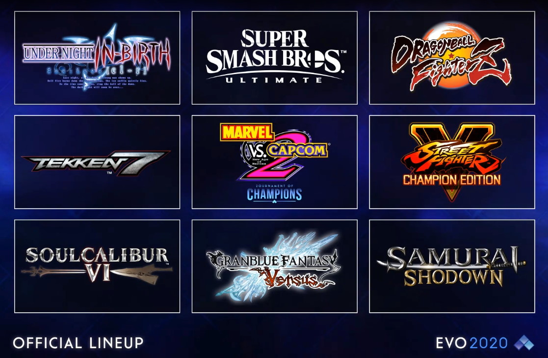 Evo 2020 Lineup Cover