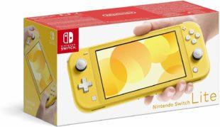 Nintendo Switch Lite Giallo