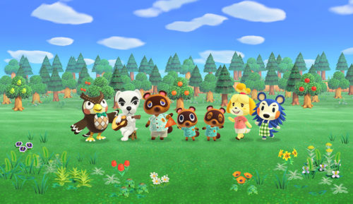 Animal Crossing: New Horizons artwork