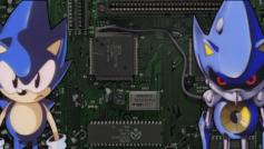 Copertina di Sonic OVA.