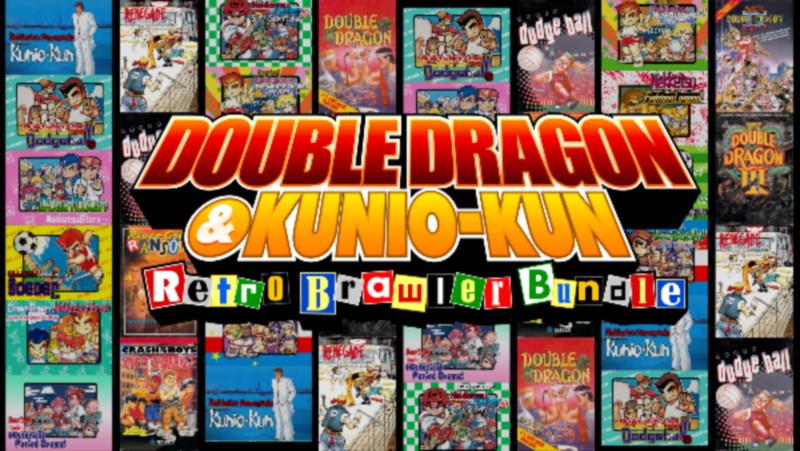 DOUBLE DRAGON e Kunio-kun Retro Brawler Bundle Cover