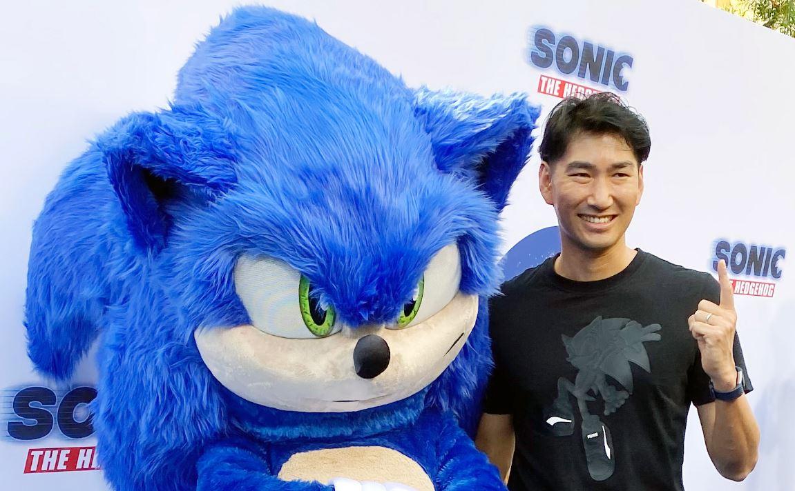 Haruki Satomi premiere Sonic - Il Film