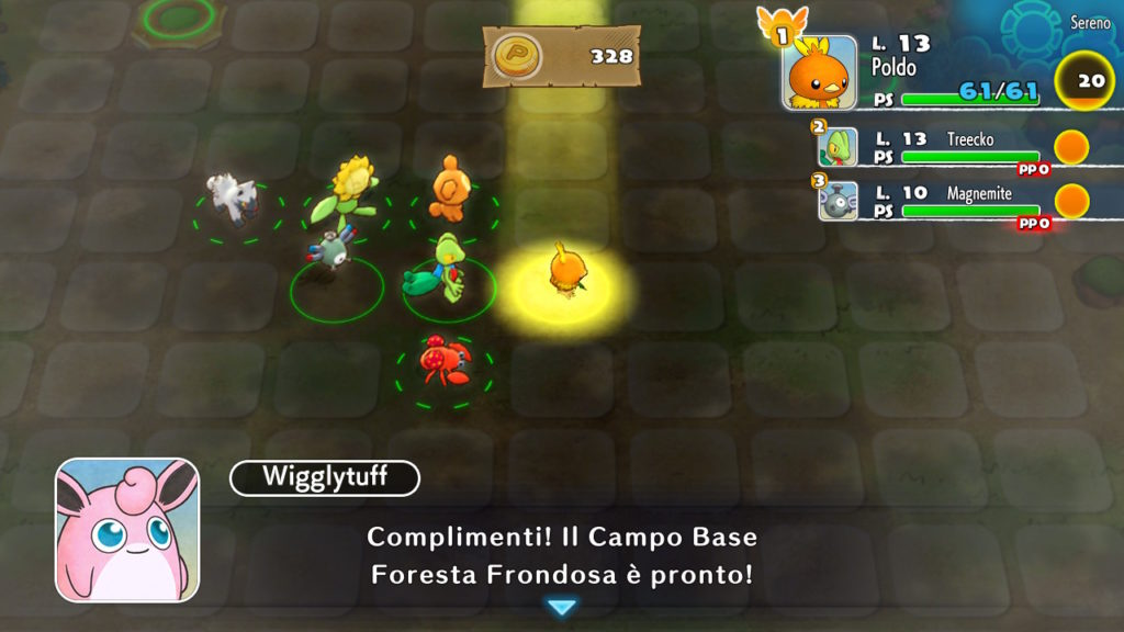 Pokémon Mystery Dungeon: Squadra di Soccorso DX wigglytuff dungeon