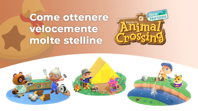 Animal Crossing: New Horizons Guida alle Stelline
