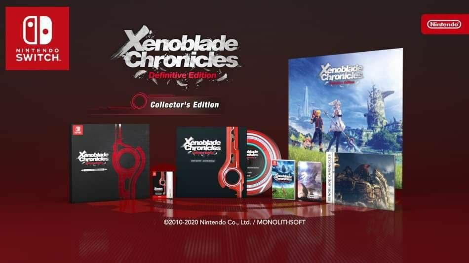 Xenoblade Chronicles Definitive Edition Limited cover