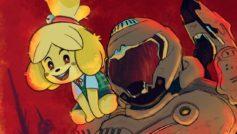 Animal Crossing incontra DOOM