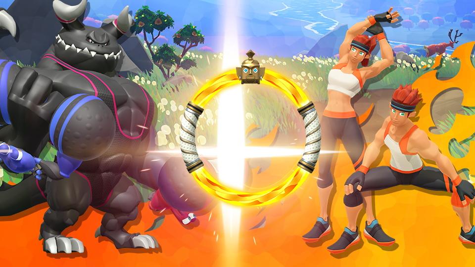 Super Smash Bros. Ultimate Ring Fit