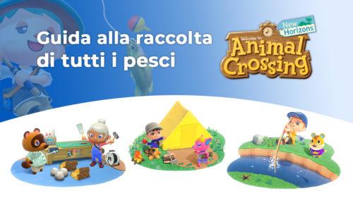 Copertina della guida ai pesci in Animal Crossing: New Horizons