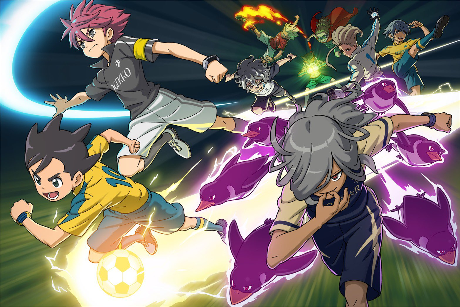 PS4SMARTPHONESWITCHInazuma Eleven: Heroes' Great Road screenshot