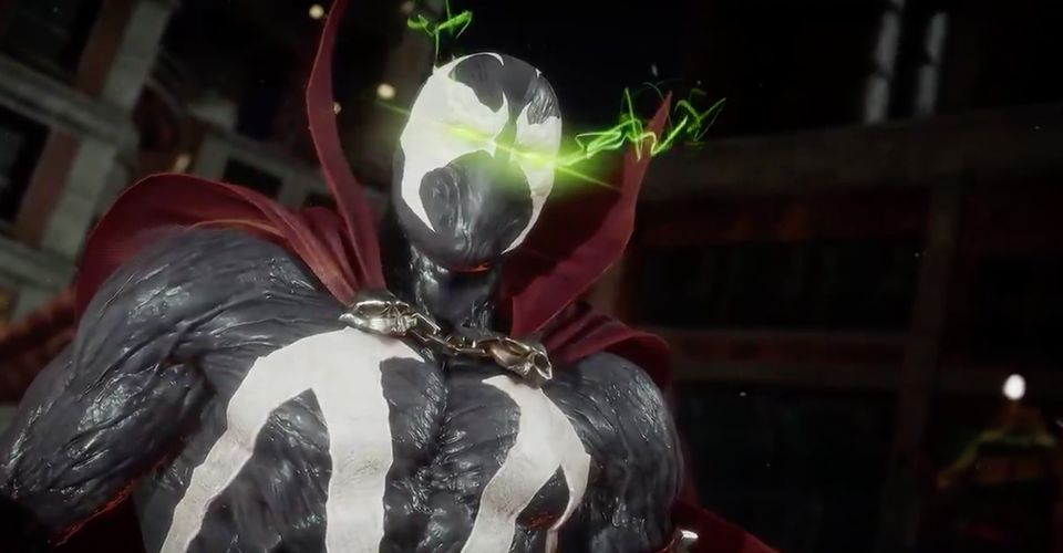 Spawn in Mortal Kombat 11