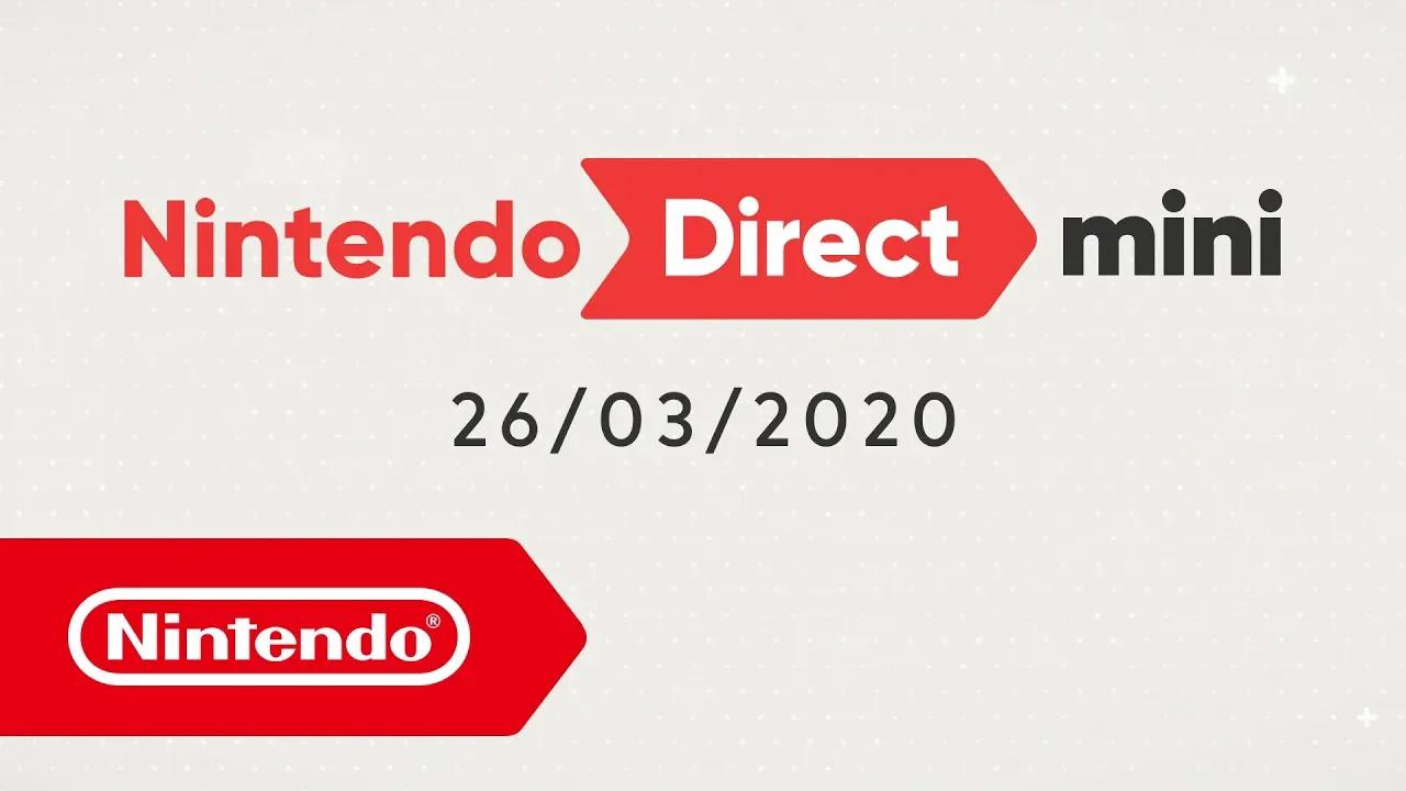 Nintendo Direct Mini a sorpresa