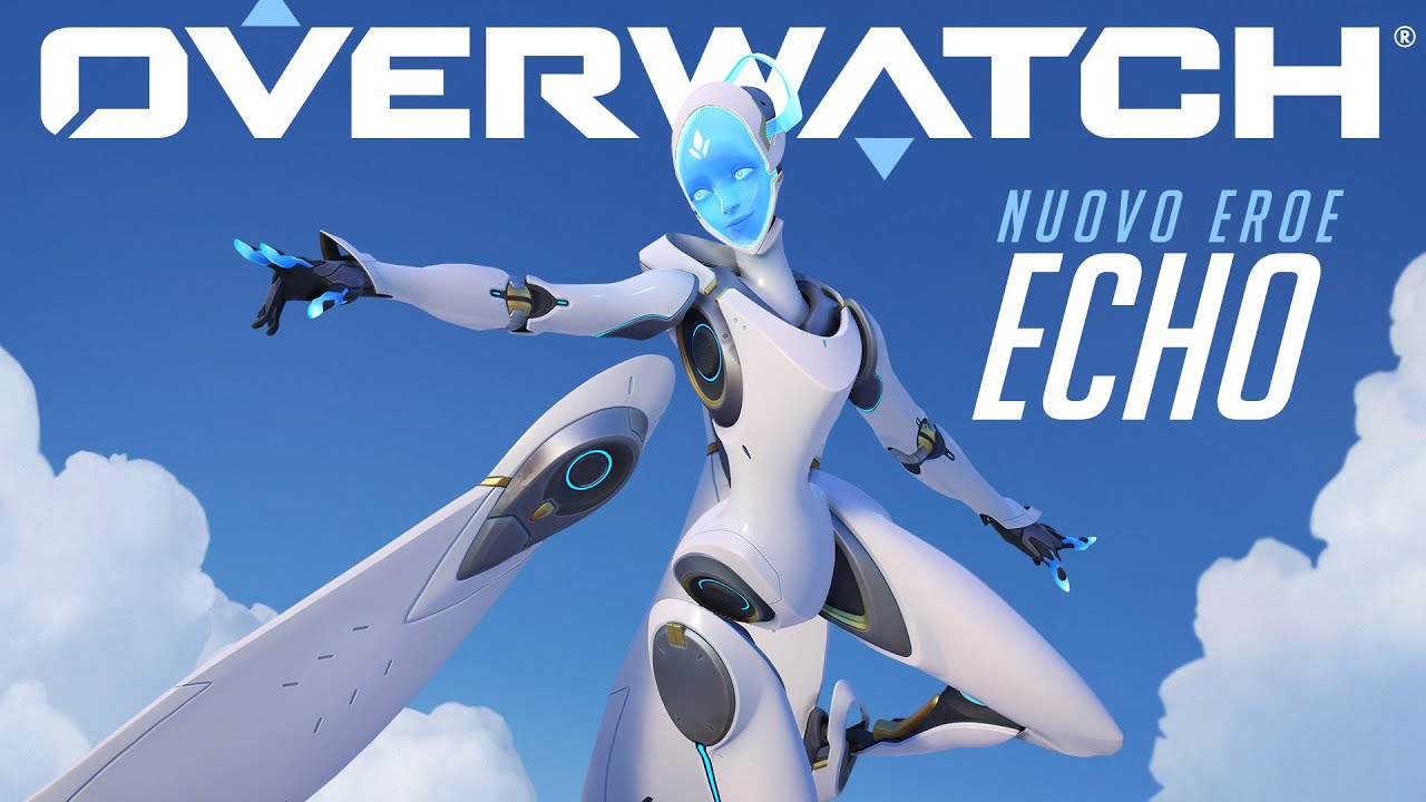 Overwatch Echo Cover