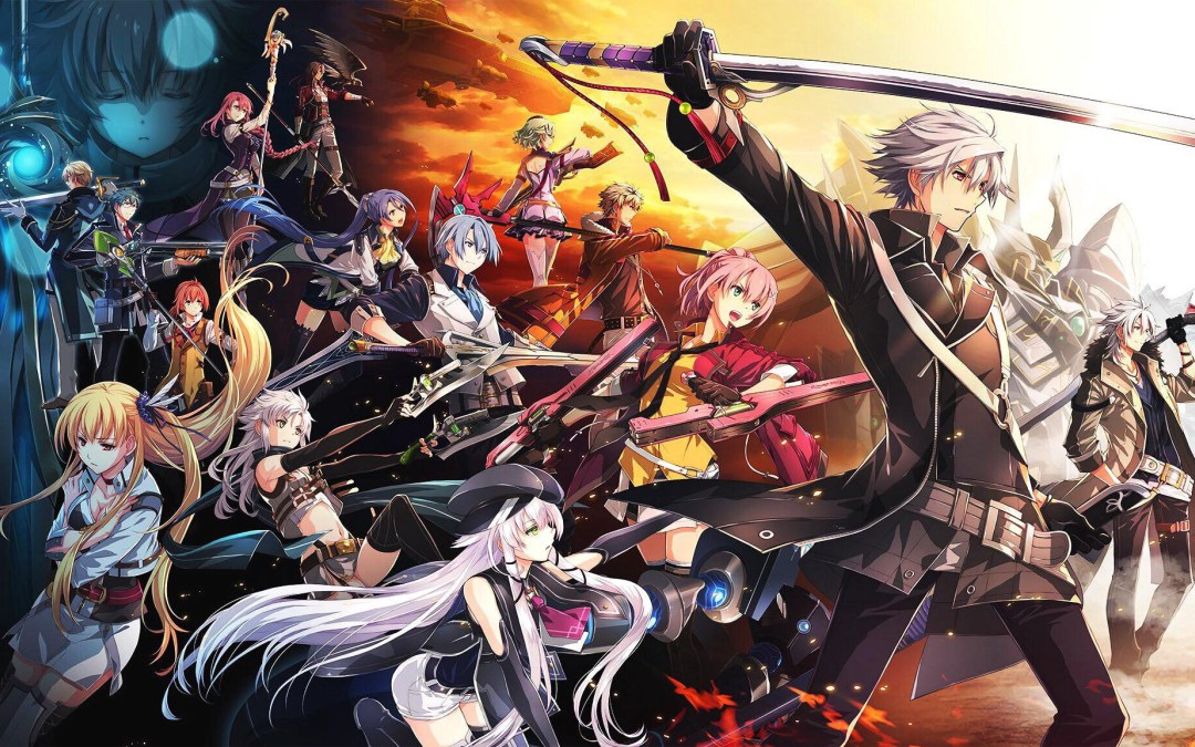 The Legend of Heroes Trails of Cold Steel IV Cover