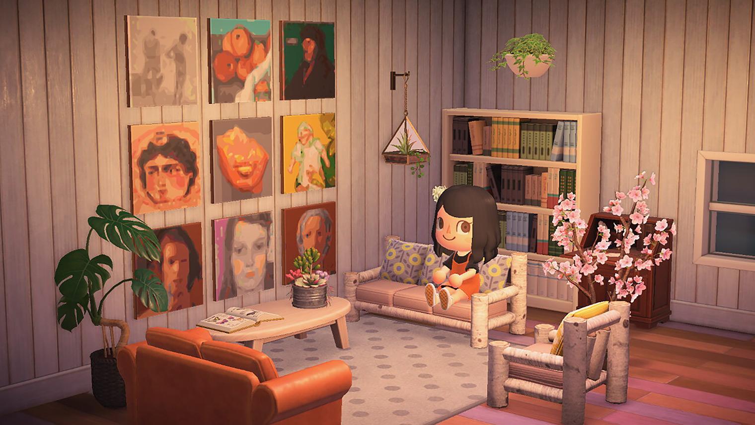 Animal Crossing: New Horizons quadri Metropolitan