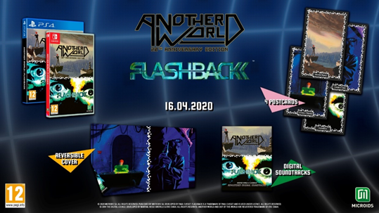Another World e Flashback locandina
