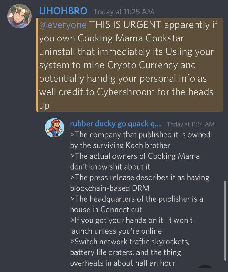 Cooking Mama: Cookstar Bitcoin