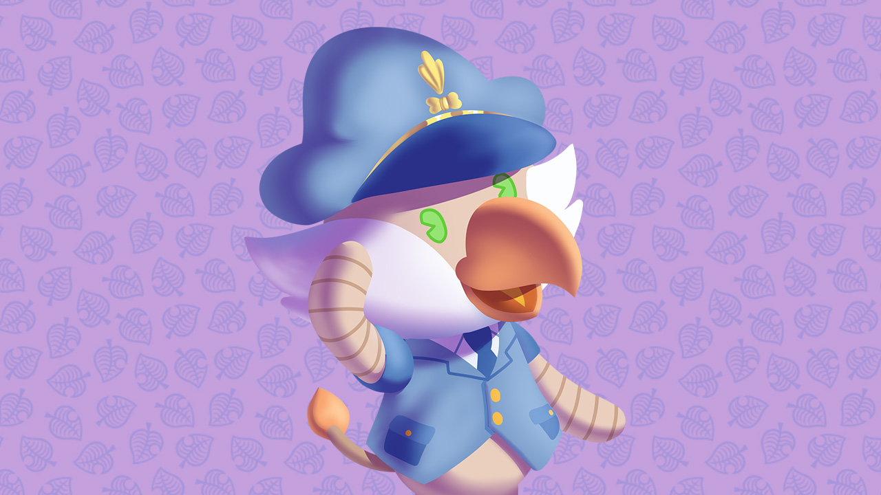Finzy arriva in Animal Crossing