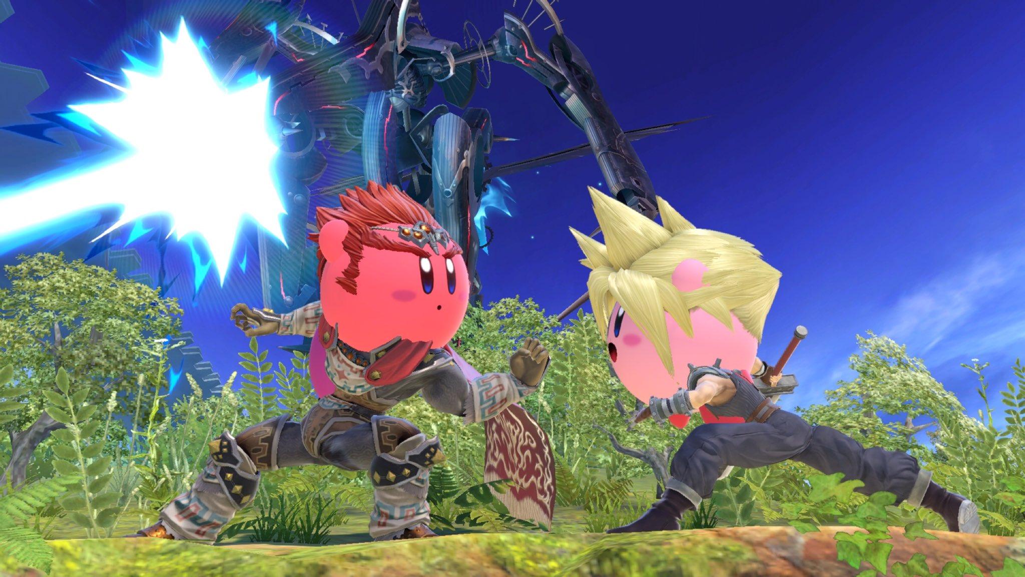Kirby cappelli Super Smash Bros. Ultimate