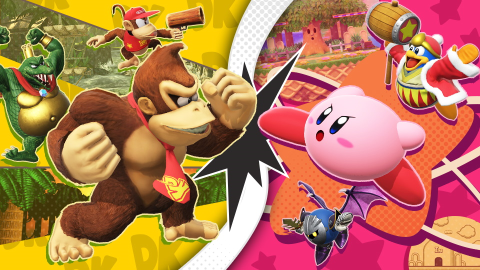 Super Smash Bros. Ultimate torneo dk kirby