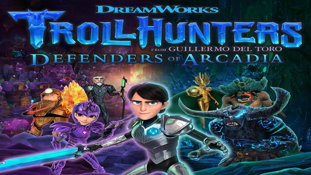 Dreamworks Trollhunters I Difensori di Arcadia Cover