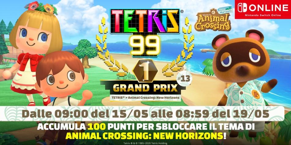 Tetris 99 Grand Prix 13 Cover