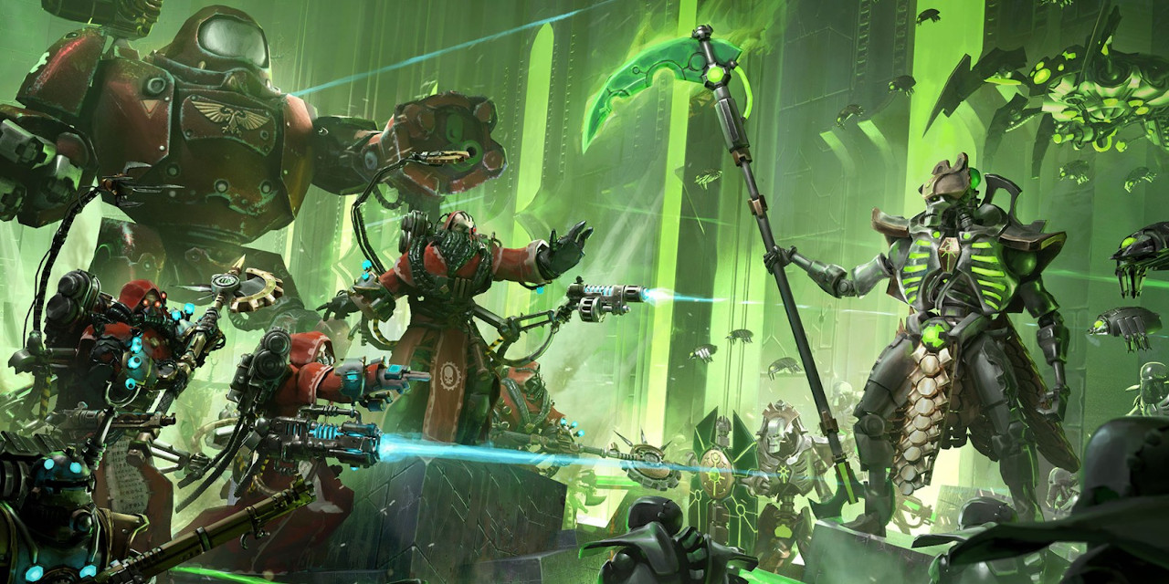 Warhammer 40,000 Mechanicus Cover