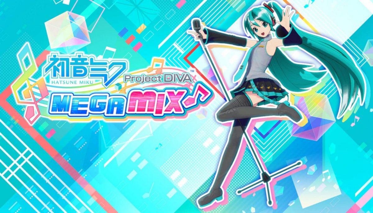 Hatsune Miku: Project DIVA Mega Mix locandina