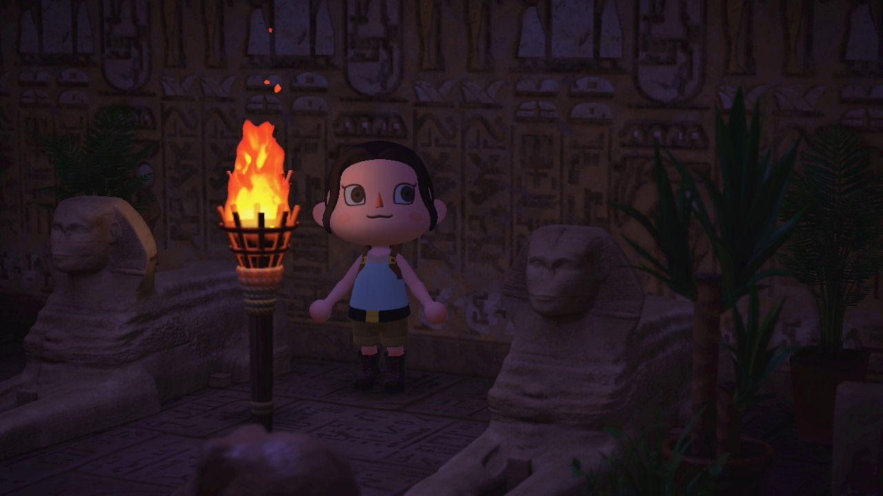 Tomb Raider incontra Animal Crossing: New Horizons