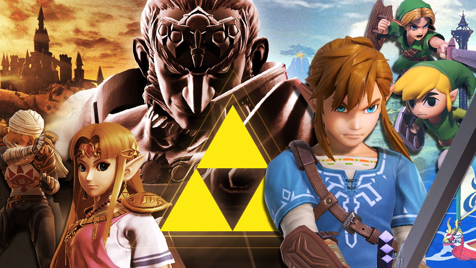 Super Smash Bros. Ultimate torneo Zelda