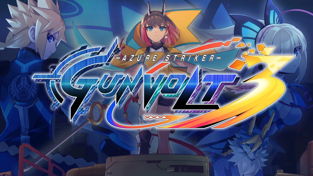 Azure Striker Gunvolt 3 Cover