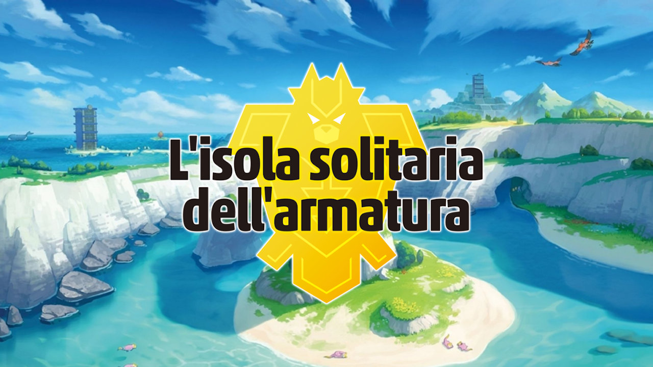 Pokémon Spada L'isola solitaria dell'armatura Cover