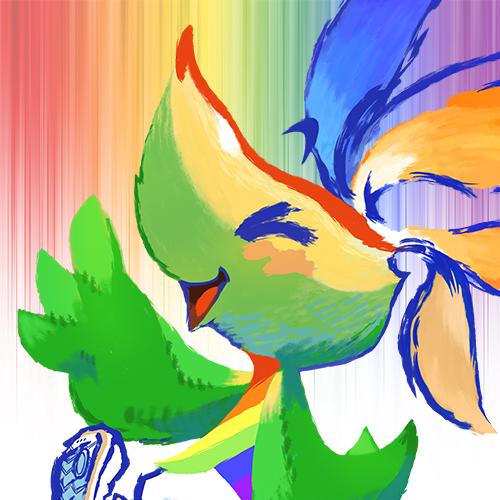 Square Enix Pride Mascot