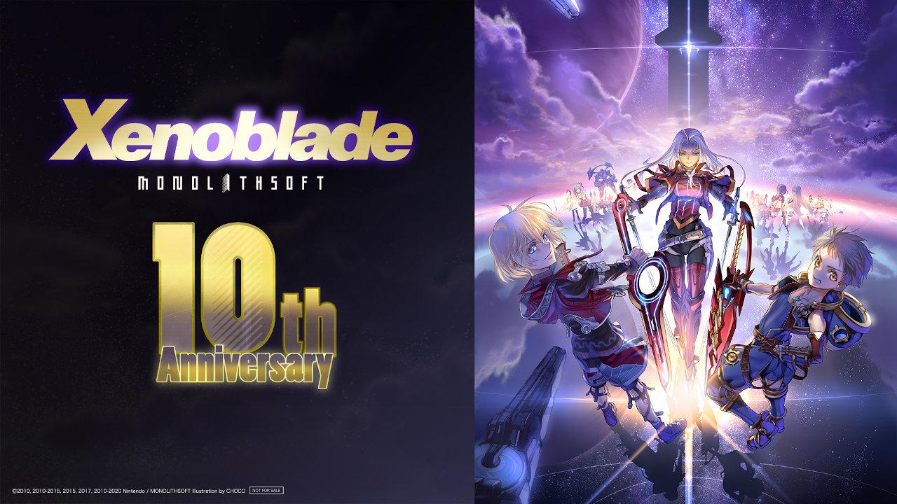 Xenoblade Chronicles Decimo Anniversario Cover