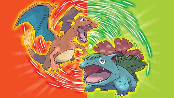 Pokémon Verde Foglia e Rosso Fuoco iQue