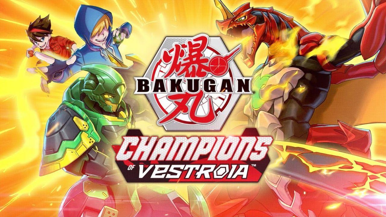 Bakugan: Champions of Vestroia locandina