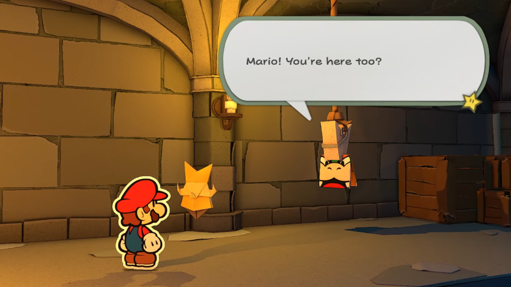 Paper Mario Origami King Bowser screenshot #sPieghiamoOrigamiKing